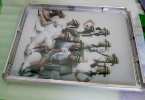 LED Aluminum Slim Snap Frame Light Box for Advertising pictures & photos