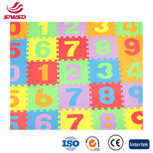 New EVA Number Mats Learning Puzzle Mats pictures & photos