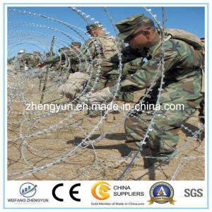 Hot Sale Razor Blade Barbed Wire Used for Boundary Segregation pictures & photos
