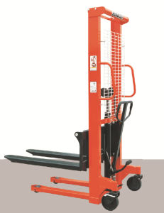 500kg Manual Stacker with CE Certificate (Ms05-16) pictures & photos