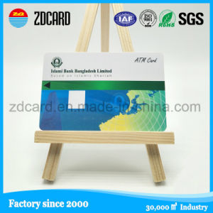 Blank PVC ATM Card with Magnetic Strip pictures & photos
