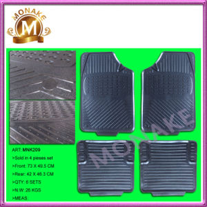 Car Accessories Rubber/PVC Anti-Slip Floor Mats for Truck / Car (MNK209) pictures & photos