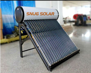 Color Steel Direct-Plug Solar Water Heater pictures & photos