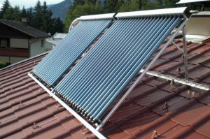 High Efficiency Heat Pipe Solar Collector with CE, Solarkey Mark Certificate pictures & photos