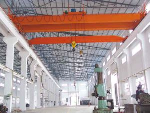 Double Girder Electric Overhead Travelling Bridge Crane 9# pictures & photos