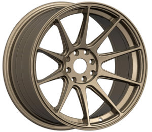 New Design Bronze Finish Alloy Wheel (RS009) pictures & photos