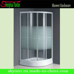 New Design Sliding Bathroom Glass Shower Cubicle (TL-508) pictures & photos