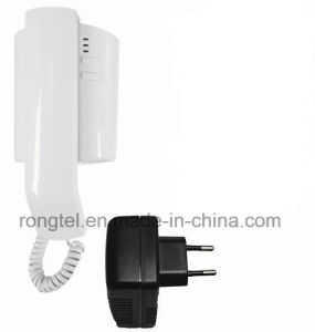 White Audio Handset for Villa Intercom System pictures & photos