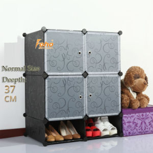 Black Plastic DIY Storage Cbinet with Many Colors Available (FH-AL0518-4) pictures & photos