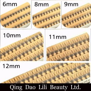 Volume Eyelash 8mm 12mm Individual False Cluster Eye Lash Extension Private Label Tray Kit pictures & photos