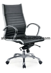 Office Furniture Leather Aluminium Swivel Ergonomic Executive Chair (RFT-A16) pictures & photos