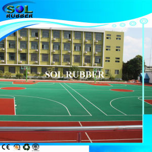 High Flexibility Playground EPDM Rubber Granules pictures & photos