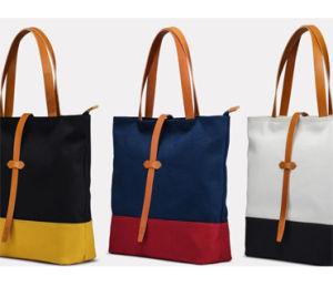 New Designs Canvas Beach Bag/ Beach Tote Bag (B704) pictures & photos