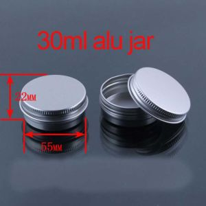 30g Screw Lids Lipstick/Hand Cream Aluminium Container/Jar/Cans pictures & photos