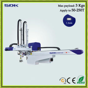 Double Arm Industrial Robot for Injection Molding Machine (ADII-750+S)