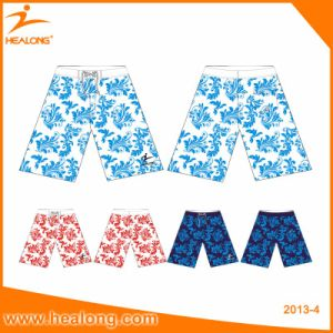 Healong Fashion Logo Clothing Sublimation Men′s Beach Shorts pictures & photos