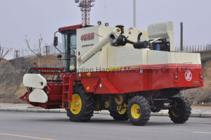 Soybean Combine Harvester with Flexible Cutting Table pictures & photos