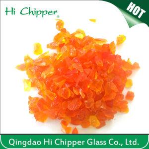 Orange Decorative Terrazzo Glass Chips pictures & photos