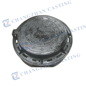 En124 Heavy Duty Manhole Covers for High Wheels D400 E600 pictures & photos