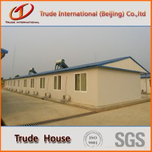 Economic Prefabricated/Mobile/Modular Building/Prefab Color Steel Sandwich Panels Fast Installation Houses pictures & photos