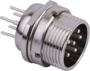 Circular Cable Power Waterproof Connector (M16-6C)