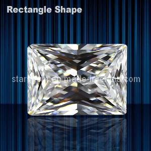 Rectangle Shape Baguette Princess Cut Cubic Zirconia pictures & photos