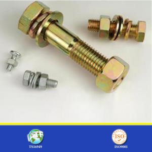 8.8 Grade Zinc Plated Bolt pictures & photos
