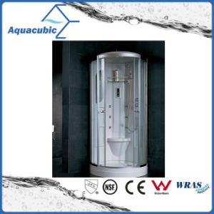 Bathroom Tempered Transparent Glass Simple Shower Room (AS-TM14) pictures & photos