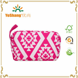 Colorful Travel Necessarie Canvas Polyester Cosmetic Bags Wholesale pictures & photos