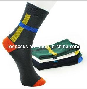 Men Cotton Busniess Socks pictures & photos
