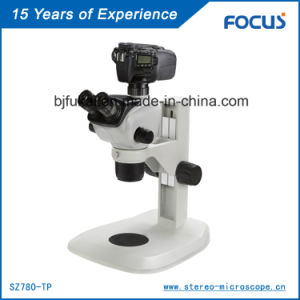 Trinocular Zoom Stereo Microscope for Monocular Microscopic Instrument pictures & photos