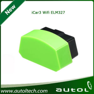 Newest Original Icar 3 WiFi Elm327 OBD Professional Solution WiFi Version pictures & photos