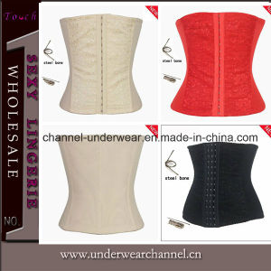 Wholesale Lady Sexy Steel Bonded Waist Top Plus Size Corsets pictures & photos