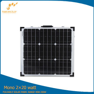 40W Foldable Solar Panel with High Quality pictures & photos