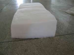 China 3 5 r value polyester insulation batts for building for Batt insulation r value