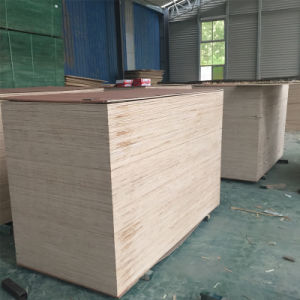 Furniture Birch Plywood Popar Core Plywood E1 Glue Kitchen Cabinets pictures & photos