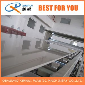 China Factory of PVC Plate Plastic Extrusion Machine pictures & photos
