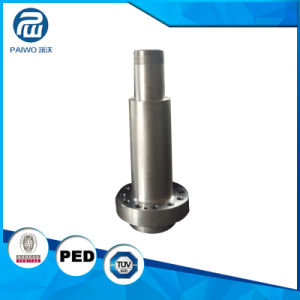 Forging CNC Machining OEM Machined Size Steel Ck45 Shaft pictures & photos