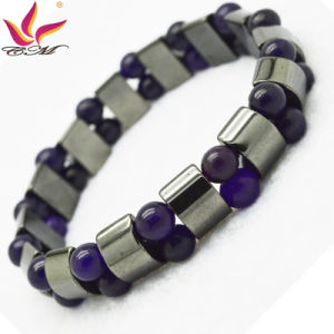 Htb093 Hematite Beaded Bracelet Jewellry