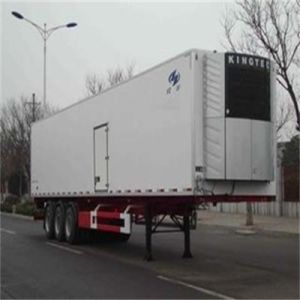 Cimc 3axles 40t Food Refrigerated Semitrailer for Sale pictures & photos