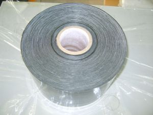 Aluminium PE Underground Anticorrosion Pipe Wrap Tape, Wrapping Adhesive Duct Flashing Tape, Polyethylene Butyl Tape pictures & photos