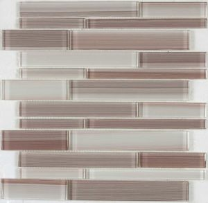 Color Strip Crystal Glass Mosaic Tile (8CSL&N92)
