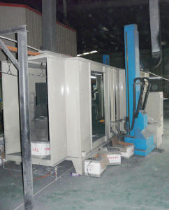 Manual Powder Coaitng Spray Booth (two openings) pictures & photos