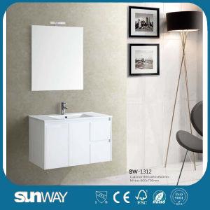 Modern Bathroom Wall Hanging Design Bathroom Vanity (SW-1312) pictures & photos