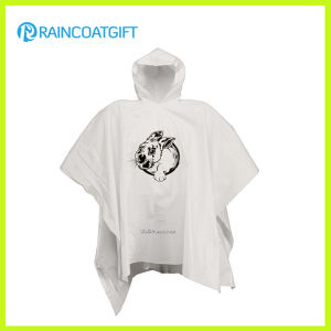 Hot Selling Cheap Custom Disposable PE Rain Ponchos pictures & photos