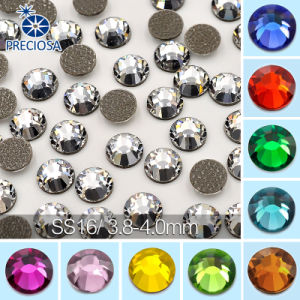 Ss16 4mm Top Quality Hot Fix Rhinestones Flat Back Crystal pictures & photos
