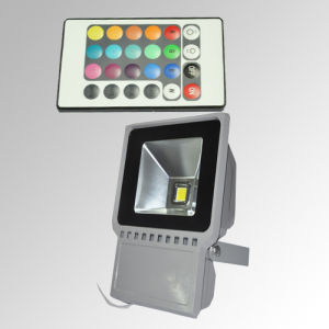 RGB LED flood light  60w pictures & photos