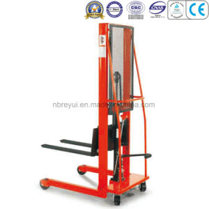 500kg (4-wheeled-Fork) Manual Stacker pictures & photos