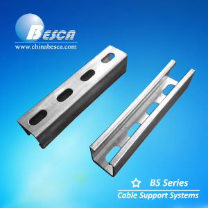 Slotted Pre Galvanised Strut Channel with SGS and CE Certification