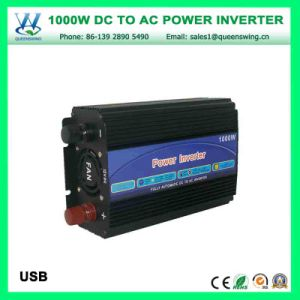 High Efficiency 1000W DC12V/24V Inverters Power Converter (QW-M1000) pictures & photos
